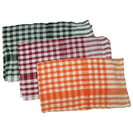"Checks Duster/Table-Kitchen Duster (45X70"" cms )"