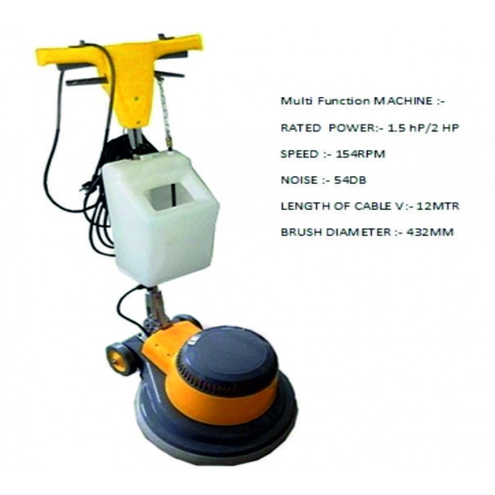 CRS 1100 Floor Renewing Machine 1.5 H.P (Single Disc)