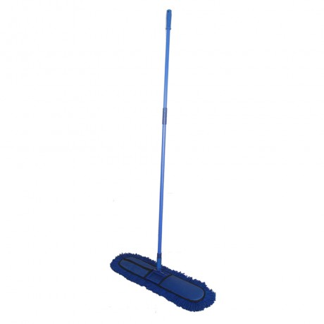 "Dry Mop/ Dust Control Mop Set 24""X5"" With 5' Handle"