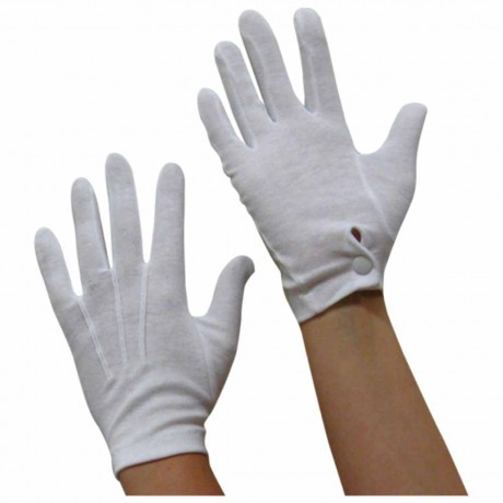 "Cotton Gloves (8""-9"" inches)"